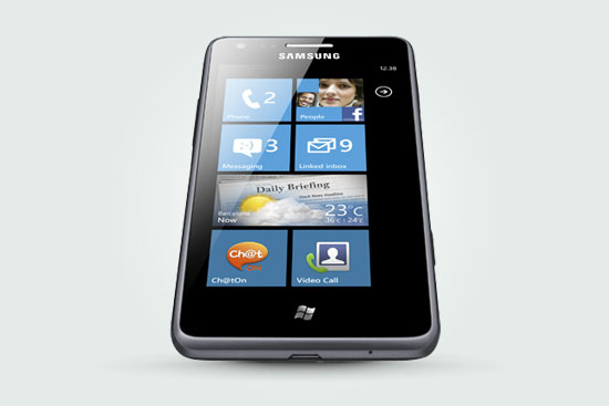 Samsung Omnia M with Windows Phone makes its UK debut August 1st, exclusively at Phones4U