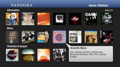 Pandora channel gets refresh, version 30 arrives on Roku