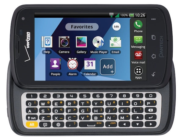 Pantech Marauder QWERTY slider gets official for Verizon, runs $50 after rebate