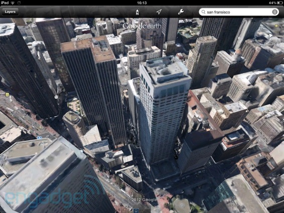 PSA Googles 3D City View and Tour Guide arrives for Google Earth on iOS today