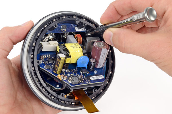 iFixit tears down the Nexus Q made in the USA, and possibly somewhere else 