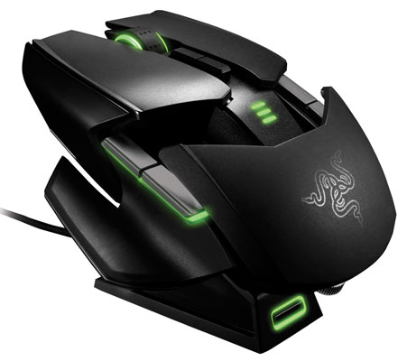 Razer Ouroboros gaming mouse goes official fits both hands, changes shape