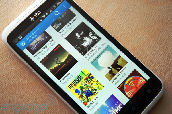Rdio Android app updated with playlist, activity stream and search improvements, puts new releases in grid view