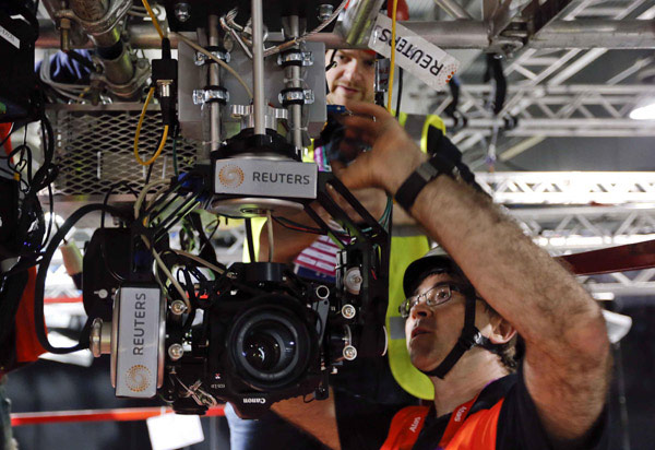 Reuters cooks up remote camera rigs for 2012 Olympics, mounts them where humans can't tread