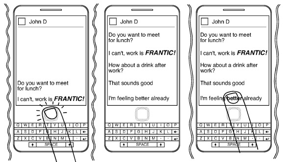 RIM applies for patent on detecting emotion in messaging, wants you chillaxing while you BBM