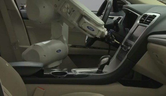 Ford wants you to meet its touchy, feely interior development robot, RUTH 20