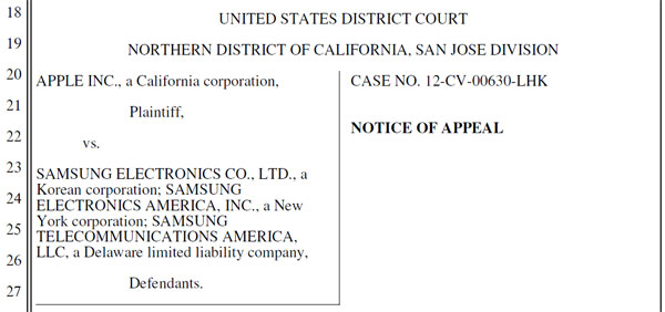 Samsung appeals Galaxy Nexus ban, of course