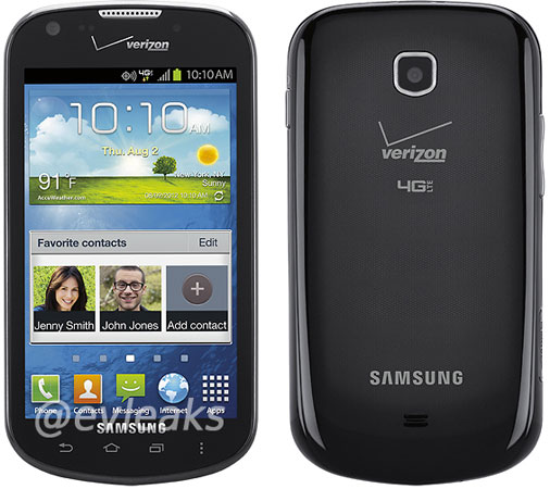 Samsung Jasper for Verizon leaks on Twitter, dualcore Snapdragon and ICS in tow