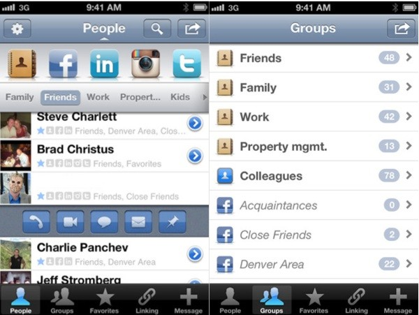 Savi People brings 'smarter' contacts to iPhone, integrates with your favorite social networks