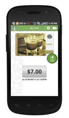 Starbucks Android app gets caffeinated update, launches in UK and Canada