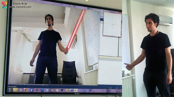 Sigma shows Jedi and sign language skills to win gesture challenge with Kinect 