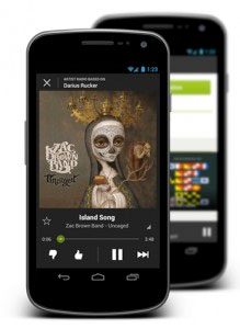Spotify adds radio streaming to its Android app
