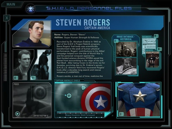 The Avengers Initiative Second Screen app goes live on web and iPad in time for ComicCon