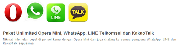 Telkomsel's new unlimited messaging plans give Indonesians an alternative to BBM
