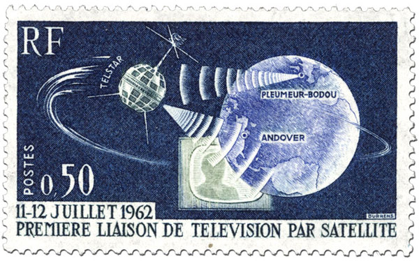 July 12th, 1962 the beginning of satellite TV, the end of islands