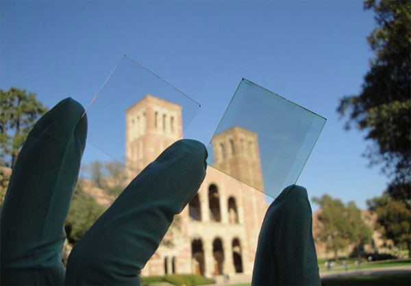 UCLA creates transparent solar cell, dreams of current generating windows
