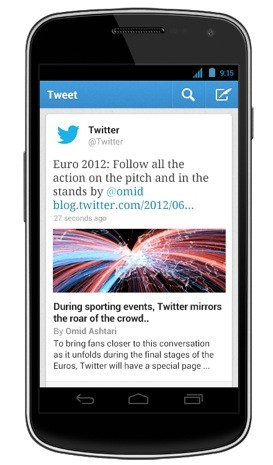 Twitter 43 for Android, iOS expands Etsy and Kickstarter tweets, becomes extrasensitive to your notification needs