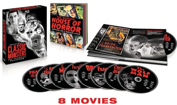 Dracula, The Mummy and six other horror classics coming in a Bluray set