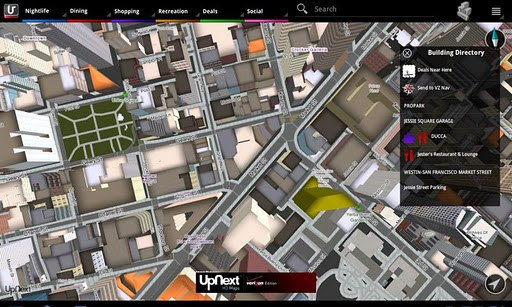 upnext android tablet Amazon reportedly acquires UpNext, 3D map wars begin in earnest