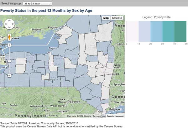 US Census Bureau posts its first API, allows smartphone apps for the statobsessed