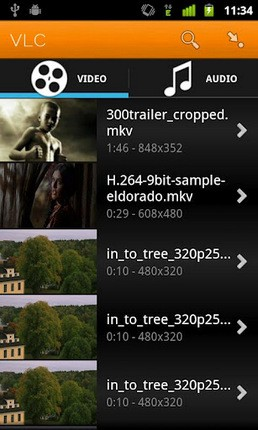 Official VLC app now out for Android: only an unstable beta, but it works