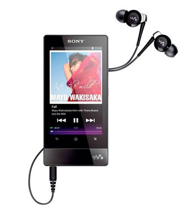 Sony unveils refreshed Walkman range Android 40 F series and entrylevel E series eyeson