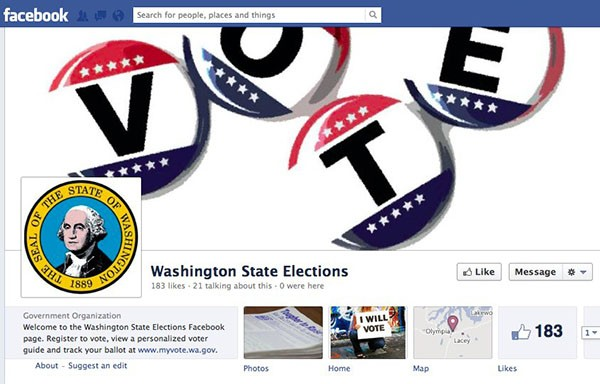 DNP Washington to become first US state to enroll voters through Facebook