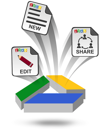 Zoho's Office suite gets Google Drive integration, keeps its freemium status