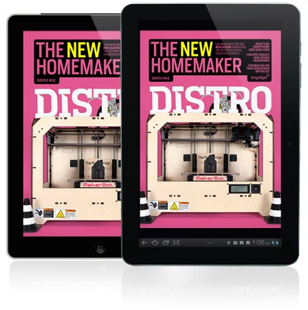 Distro Issue 52 Does the MakerBot Replicator signal the dawn of inhome 3D printing