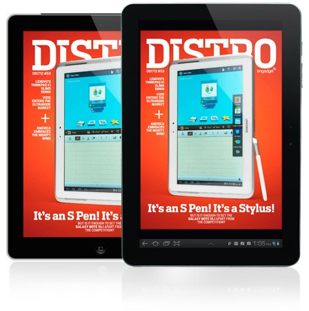 Distro Issue 53 Will the S Penweilding Samsung Galaxy Note 101 rise above its tablet foes