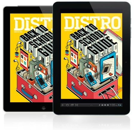 Distro Issue 54 arrives with the complete Engadget back to school gear guide!