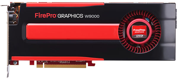 AMD announces $4k FirePro W9000 GPU, entrylevel FirePro A300 APU for CAD and graphics pros