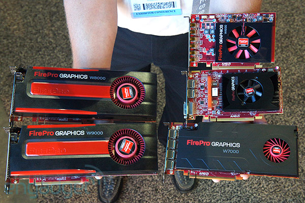 AMD launches its nextgen FirePro graphics card lineup, we go handson at SIGGRAPH video