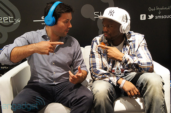50 Cent adds two more headphones to his SMS Audio line video