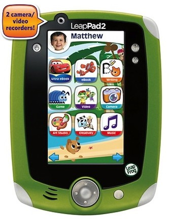 5720056sa 1345211940 LeapFrogs child friendly LeapPad 2 goes on sale for $100, is ready for sticky fingers
