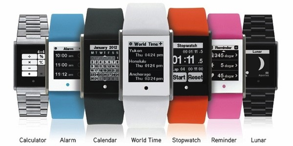 Phosphor turns to Kickstarter to fund Touch Time, a touchscreen digital watch