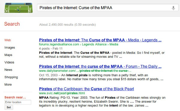Google to downrank sites hit by valid copyright claims