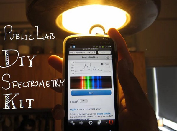 Insert Coin Public Lab DIY Spectrometer wants to be the 'Shazam of materials'