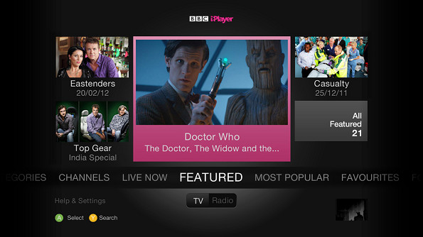 BBC iPlayer adds radio support to Xbox app