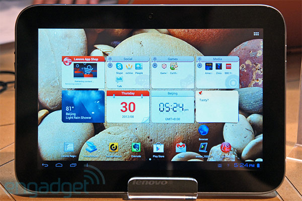 Lenovo IdeaTab A2109 gets official outing at IFA 2012 9inch 1280 x 800 display, Tegra 3, Android 40 handson video