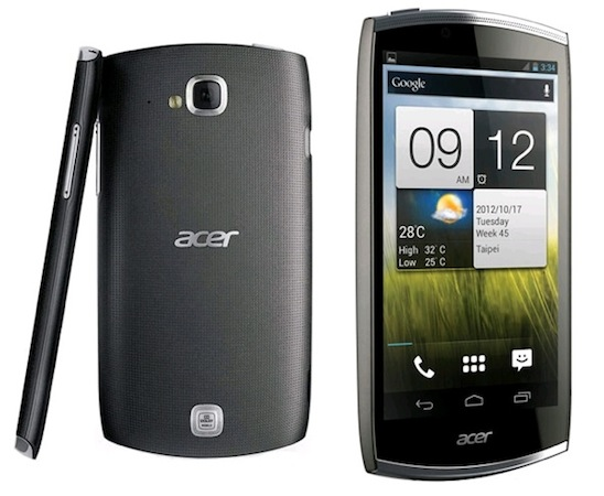 Acer CloudMobile now available for preorder in the UK, expected to be released on September 5th