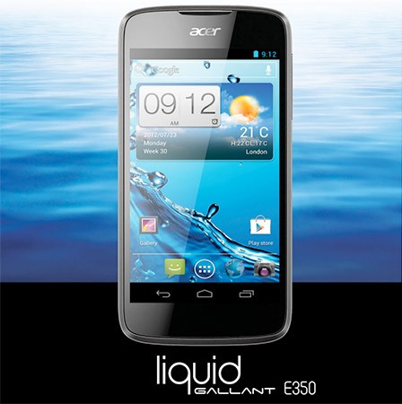 Acer Liquid Gallant Solo makes brief cameo, Android 40 smartphone lives up to its name