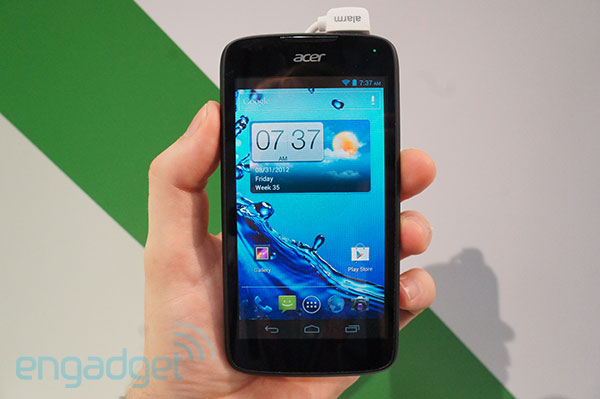 Acer Liquid Gallant handson video
