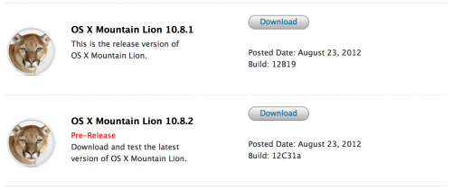 Apple releases Mountain Lion 1082 build to devs, focuses on Facebook, iMessage and more