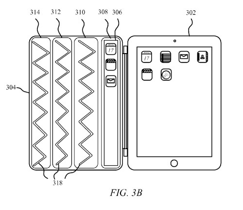 Apple seeks patent for Smart Cover with embedded flexible display