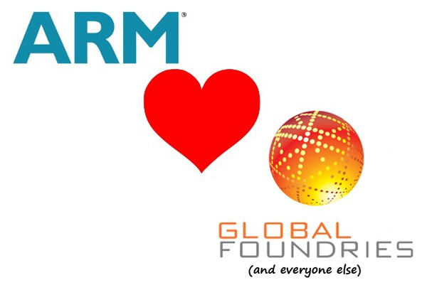 ARM and Globalfoundries Hammer Deal to Produce 20nm Chips