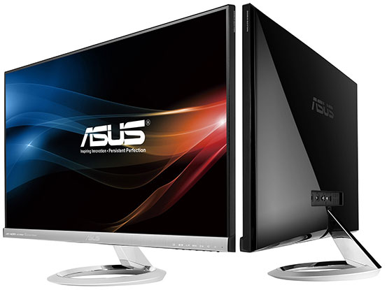 ASUS Designo MX279H and MX239H monitors are slim, inspired by sundials