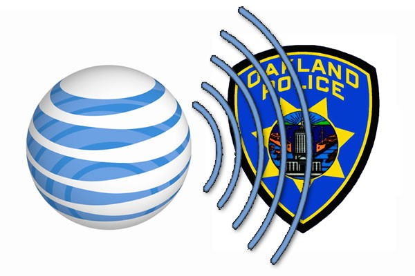 DNP AT&T partially shuts 2G in Oakland as cell tower emissions step on police frequencies