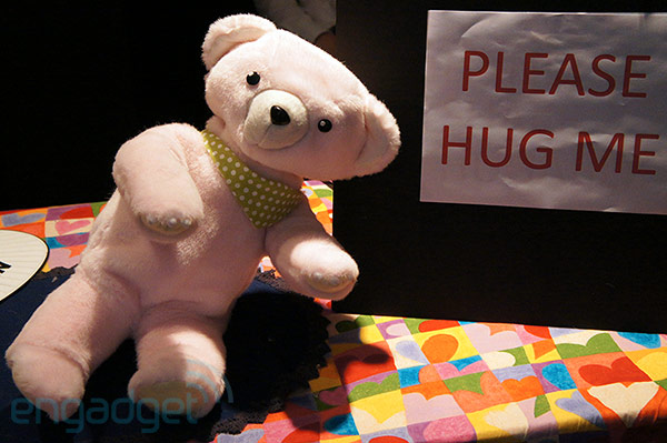 Stuffed Toys Alive! replaces mechanical limbs with strings for a much softer feel handson