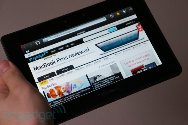 Blackberry PlayBook 3G+ now available in the UK, 1.5GHz dual-core, 32GB storage